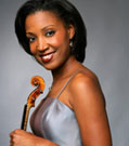 Kelly Hall-Tompkins, Violinist, Press Photography